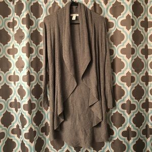 White House Black Market long cardigan NWOT